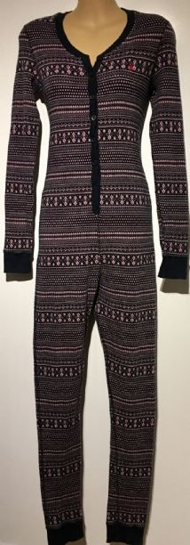 JACK WILLS KNITTED BUTTON FRONT LOUNGEWEAR ONESIE SIZE UK 8